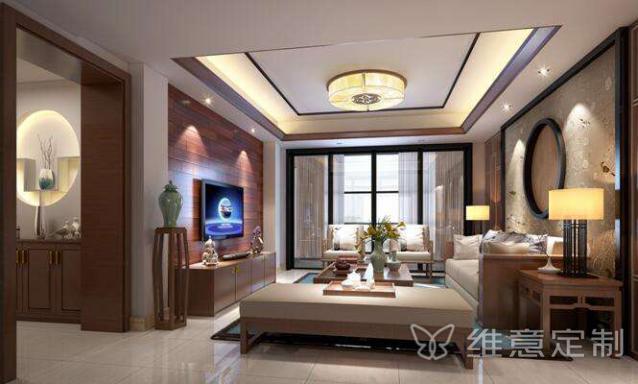 140平新中式风格