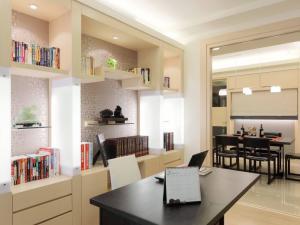 165平现代书房装修效果