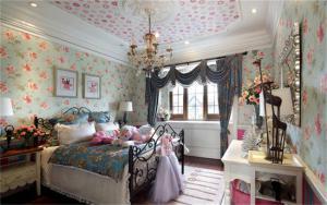 梦幻的卧室儿童床