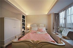 小清新卧室飘窗装修效果图