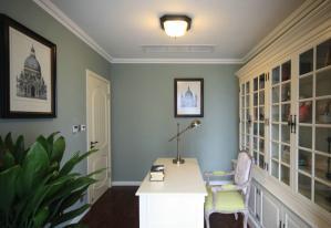 四室两厅美式书房装修效果图