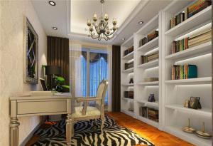 欧式书房装修效果图家具图