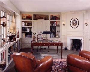 四居室的古典书房装修效果图