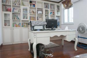 简欧书房装修效果图实拍家居