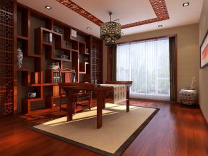 中式书房装修效果图图册