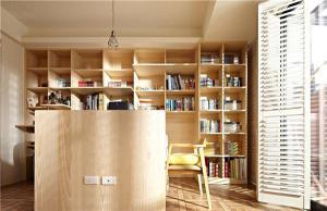 独立性书房布置效果图