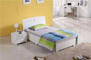 简约风格家具单人床