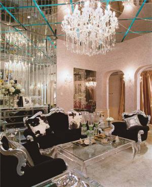 现代客厅茶几风格
