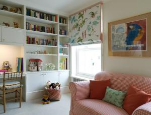 田园风格可爱小孩书房装修