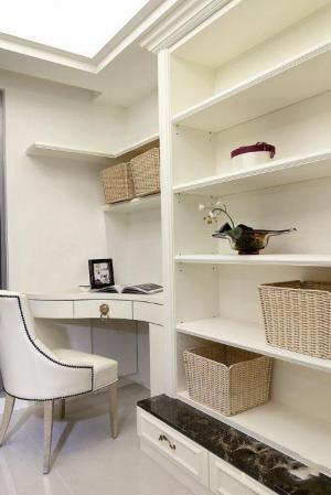 小孩书房装修效果图转角整套家具