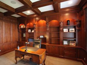 书房装饰设计欧式家具搭配