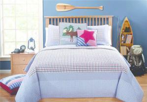 卧室二层床床品搭配