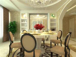 家装白色餐桌