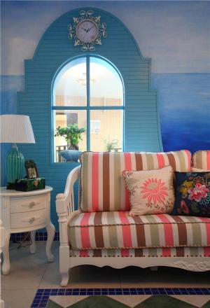 创意客厅布艺沙发