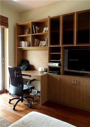 卧室简易家庭书房装修效果图