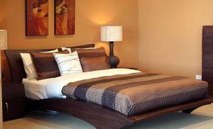 简约舒适卧室二层床
