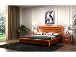 中式实木床家具套装