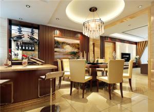 豪华小户型客厅餐桌图片