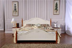 欧式床细节分享
