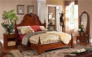 现代双人欧式床