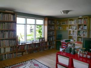超大容量的古典书房装修效