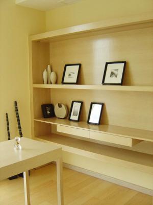 普通家用现代简约书房装修