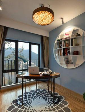 现代书房装修效果图吊顶设计