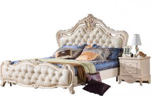 欧式床高清实木床图片