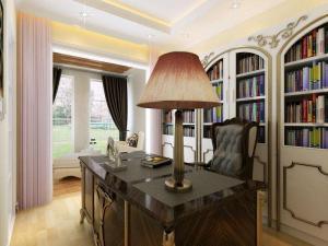 奢华小书房装修效果图