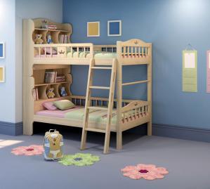 卧室二层床双层床