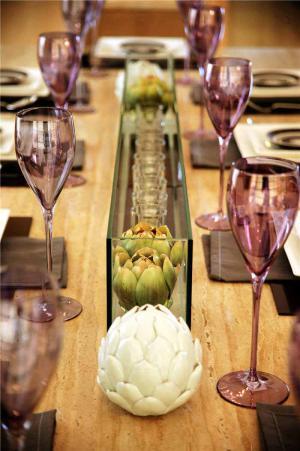 家居中式餐桌