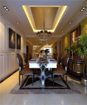 时尚白色餐桌图片