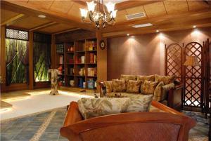 小户型长方形客厅家具