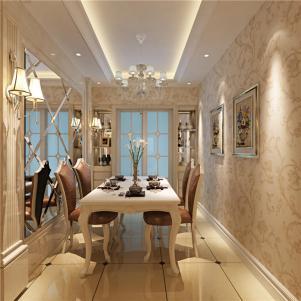 家居小户型客厅餐桌图片