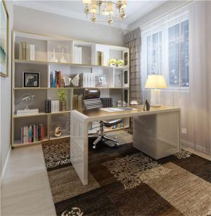 小书房装修效果图局部设计