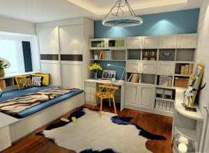 家庭书房装修效果图整套家具