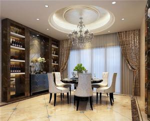 新古典风格餐桌搭配