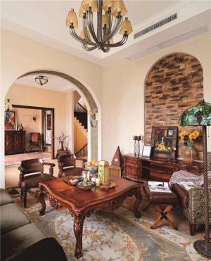 时尚小客厅茶几图片