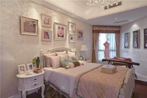 美式卧室飘窗设计图片