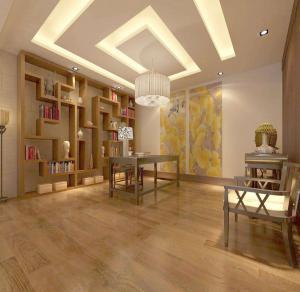 中式书房装修效果图素材免费