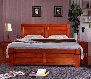 橡木大床卧室床