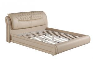 皮质家具床