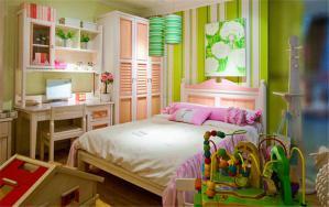 简易家居卧室儿童床