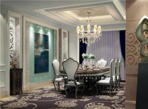 现代白色餐桌图片