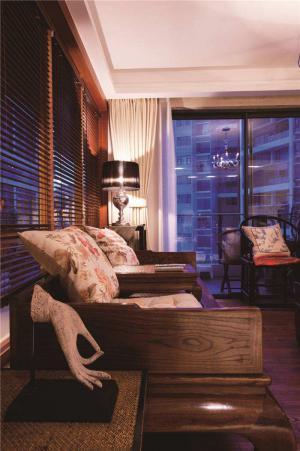 客厅组合沙发实拍图
