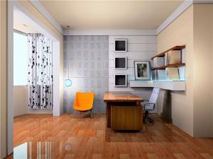家庭书房装修效果图设计作