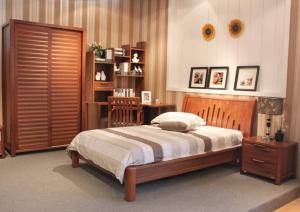 实木家具单人床