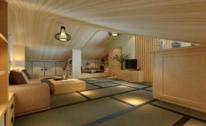 四居室日式书房