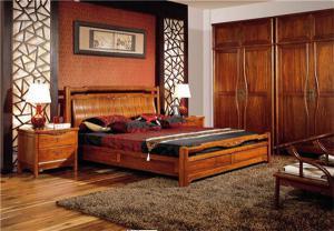 中式实木床图集