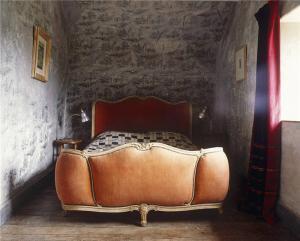 法国小卧室床